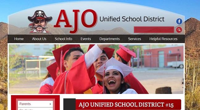 School Website Design: Ajo Unified School District