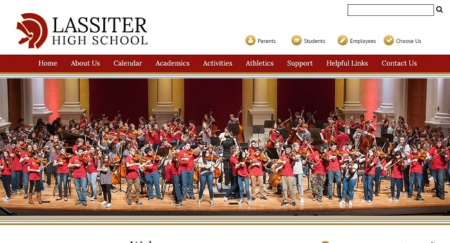 School Website Designer: Lassiter High School