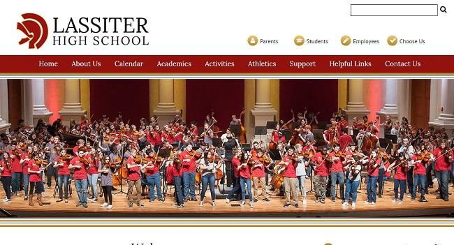 School Website Designer: Lassiter High School
