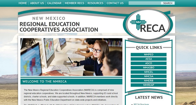 Educational Organizations: New Mexico Regional Education Cooperatives Association