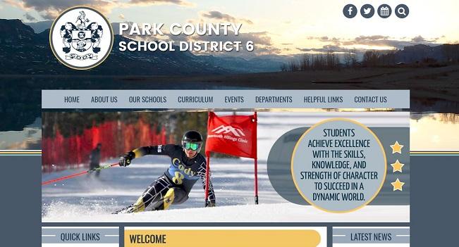 School Website Design: Park County School District 6