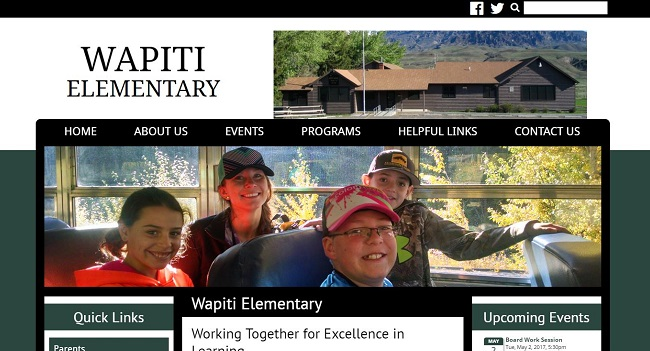 Elementary Web Design: Wapiti Elementary