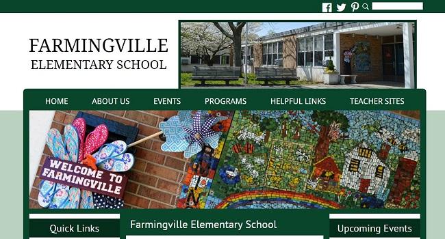 Elementary School Web Design: Farmingville Elementary