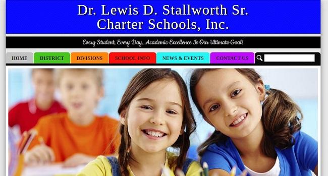 Charter School Web Design: Dr. Lewis D. Stallworth Sr. Charter Schools