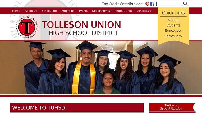 School Website Design: Tolleson Union High School District