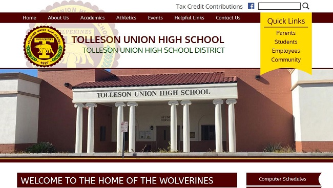 High School Web Design: Tolleson Union High School