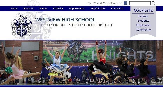 High School Web Design: Westview High School