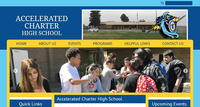 High School Web Design: Accelerated Charter High School