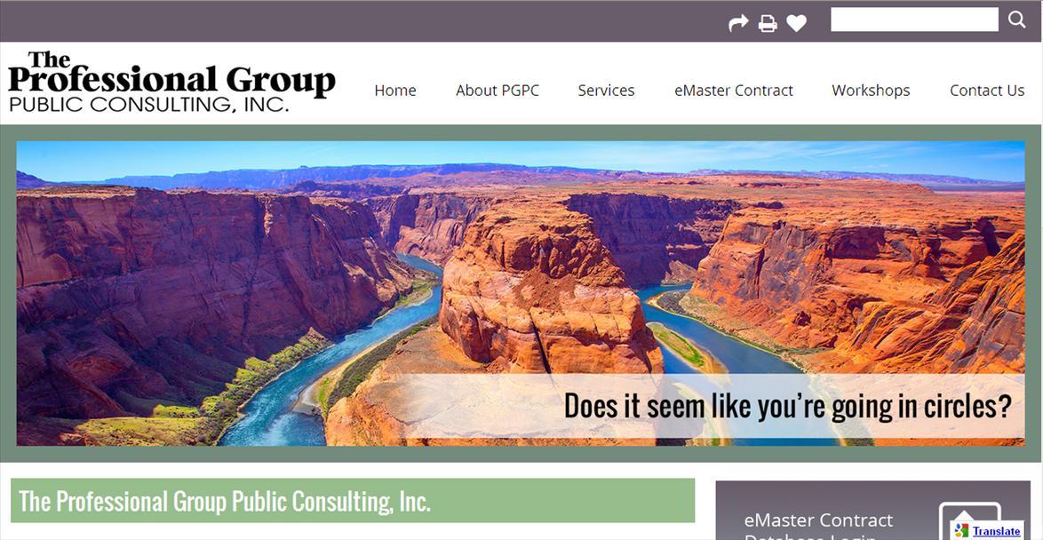 Educational Organization Website: PGPC