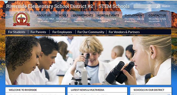 School Sites: Riverside Elementary School District