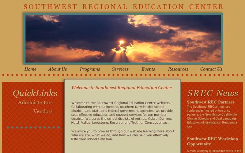 Education Cooperative Websites: Southwest REC