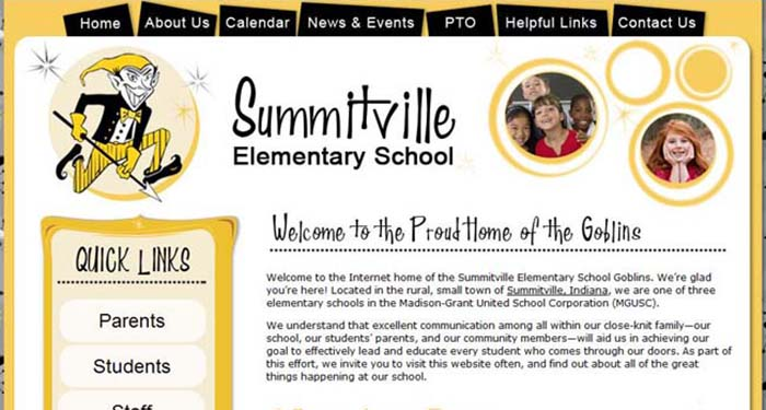 School Sites: Summitville Elementary School