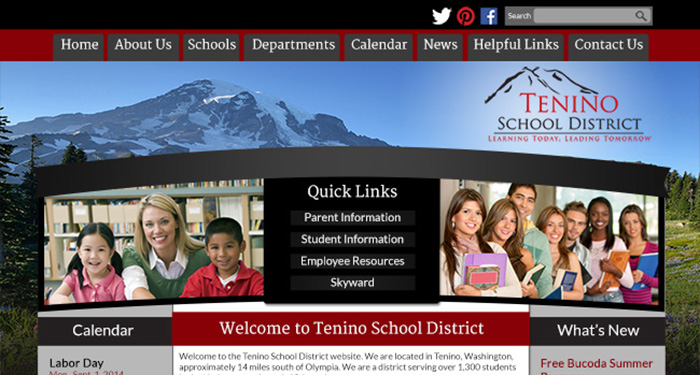 School Website Designers: Tenino School District