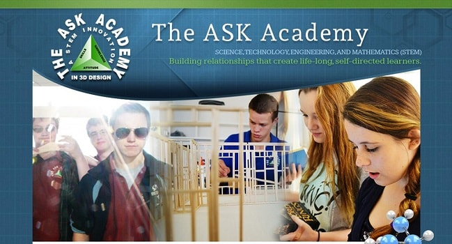 Private School Web Page: The ASK Academy