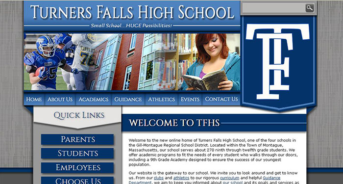 High School Sites: Turners Falls High School