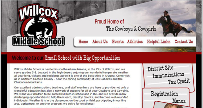 School Sites: Willcox Middle School