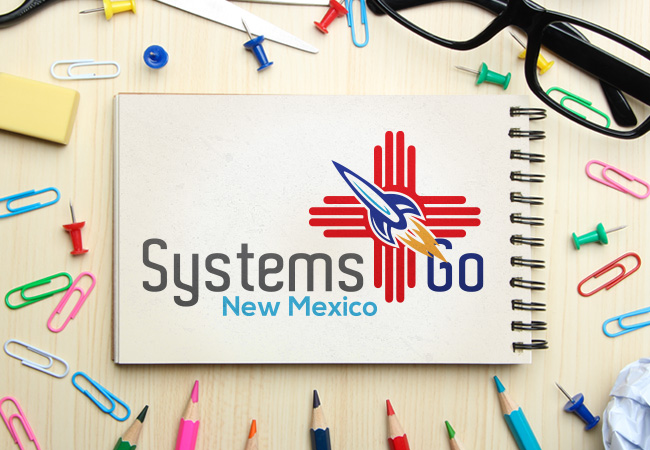 School Logo Design: Systems Go NM