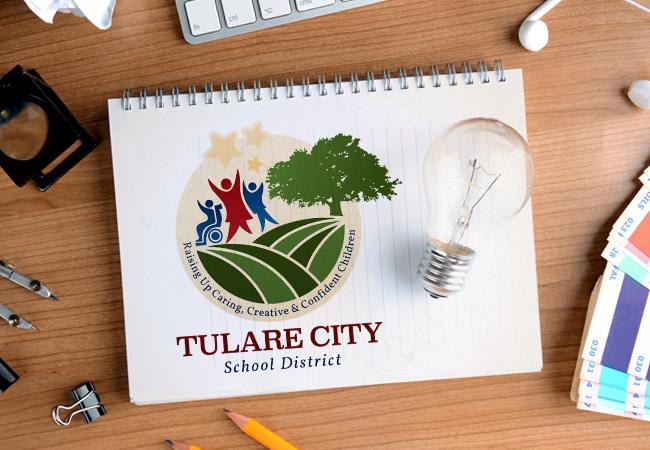 School Logo Design: Tulare ESD