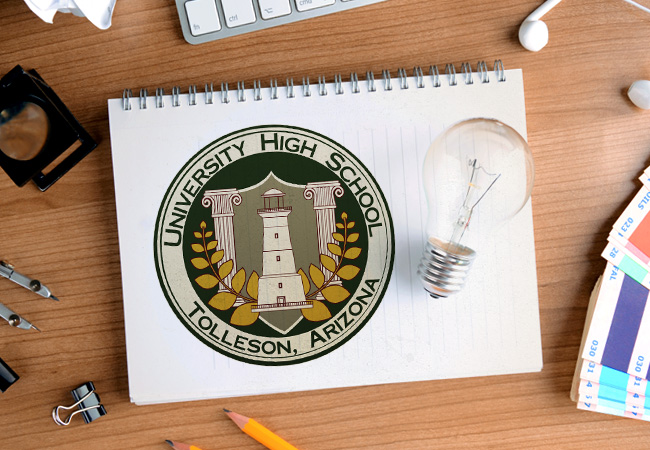 School Logo Design: University High School