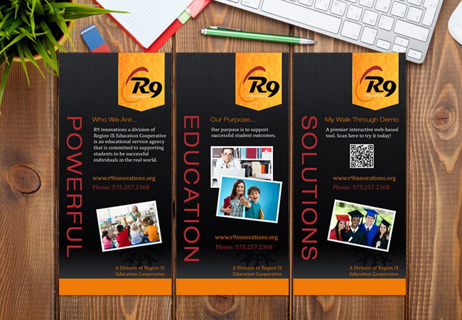 Print Banner Design: R9 Innovations