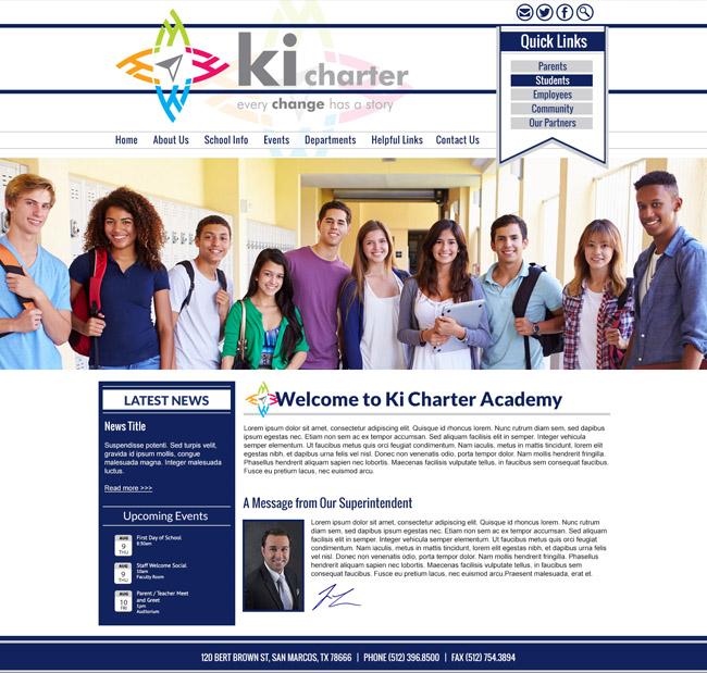 Charter School District Template: Ki Charter School