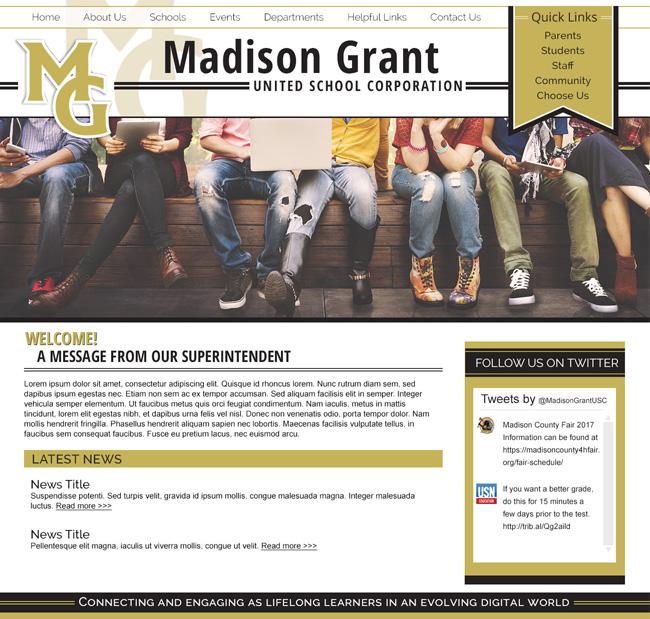 United School Corporation Template: Madison Grant USC