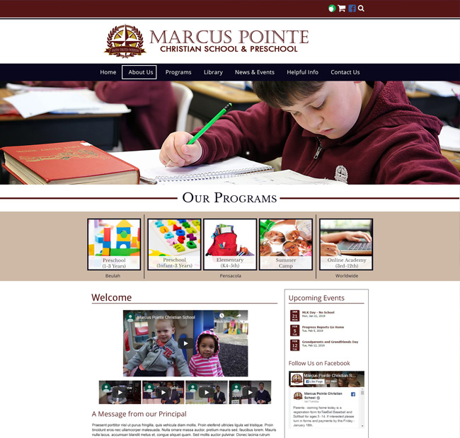 Marcus Point Christian School and Preschool