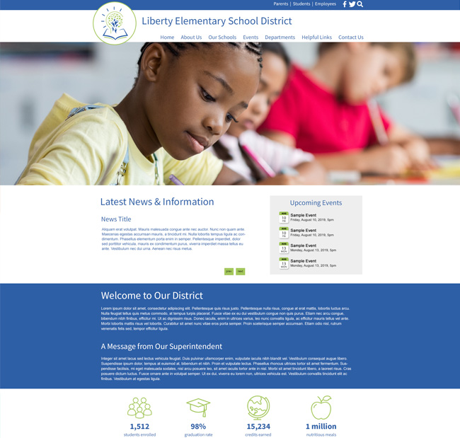 Customized District Website Smethport USD