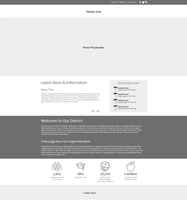 Custom Template School Websites Pecan Home