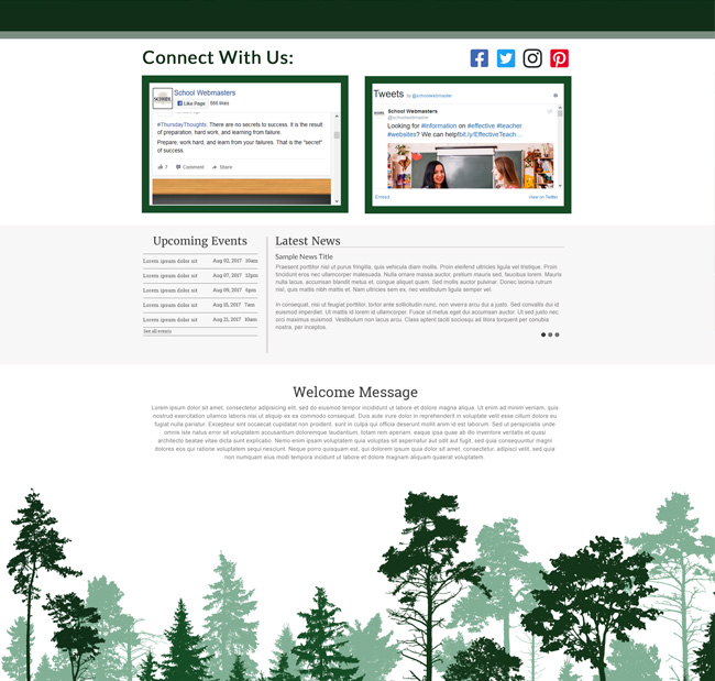 Example of Spruce Design Template