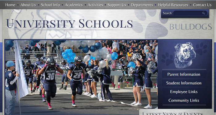 Web Design for Schools: University Schools