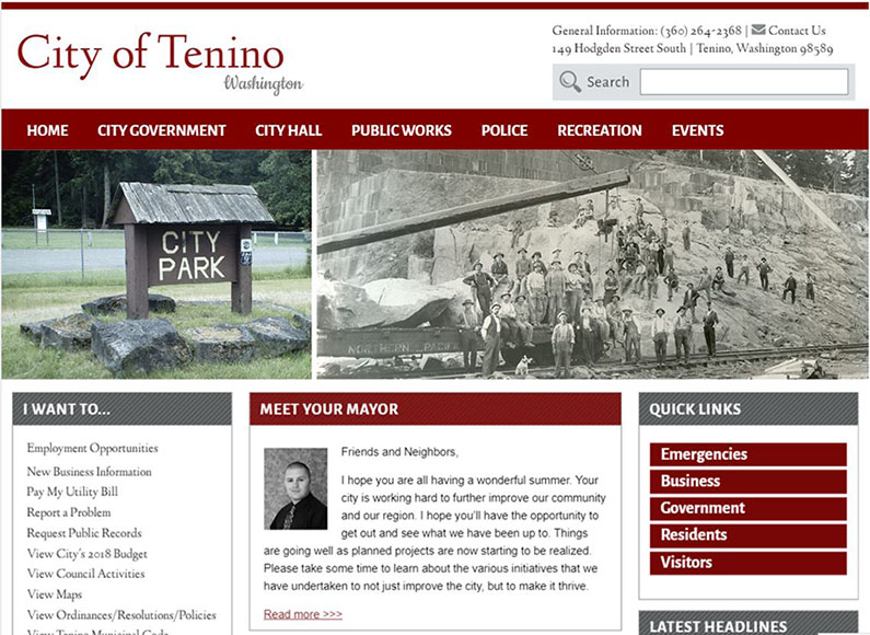 City of Tenino