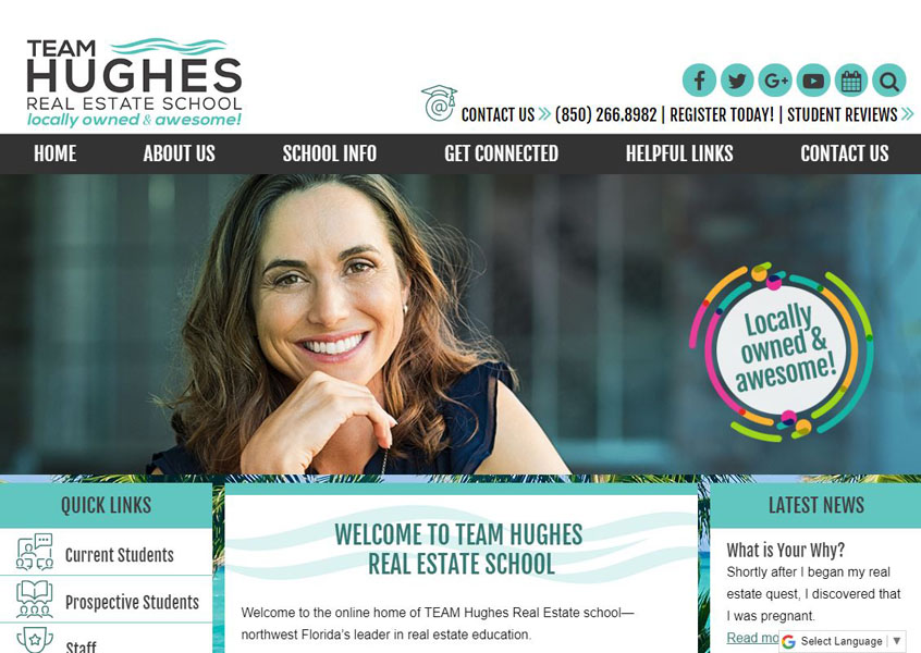 Team Hughes Real Estate School