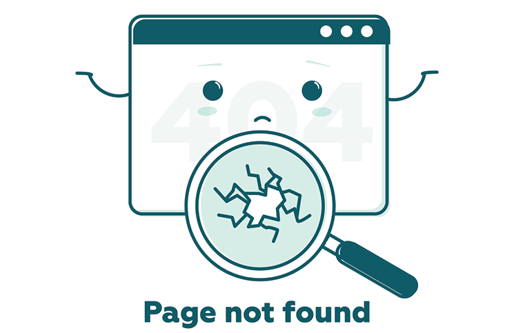 page not found 404 error on computer screen
