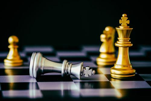 strategic chess game
