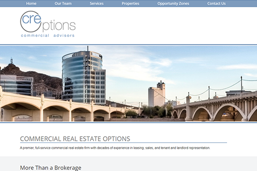 CRE Options Website