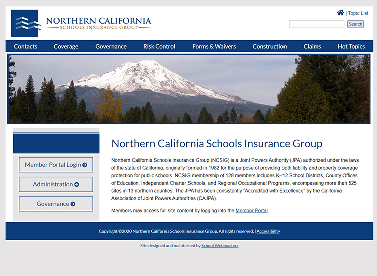 Northern California Schools Insurance Group