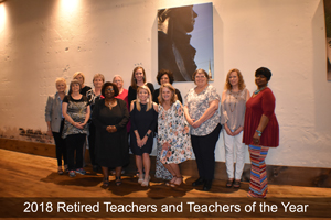 2018 Retired Teachers and Teachers of the Year