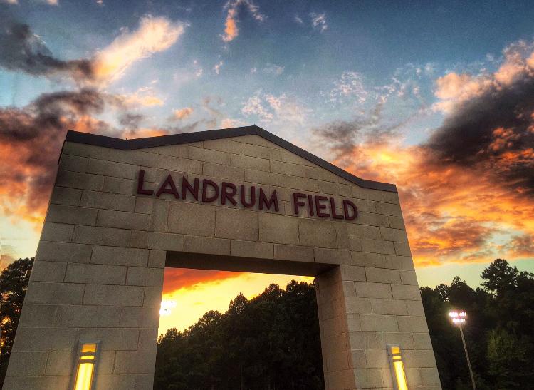 Landrum Field Entrance