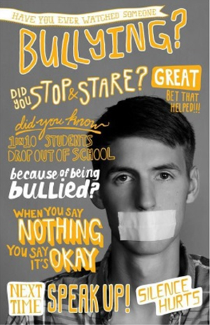 When you say nothing you say it's okay Next time speak up silence hurts