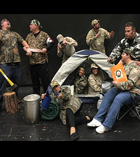 Staff Camping Photo