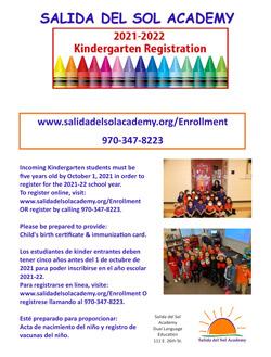 Kindergarten Roundup flyer