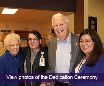 View photos of the Dedication Ceremony