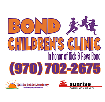 BOND CHILDREN'S CLINIC - In honor of Dick & Reva Bond - (970) 702-2675
