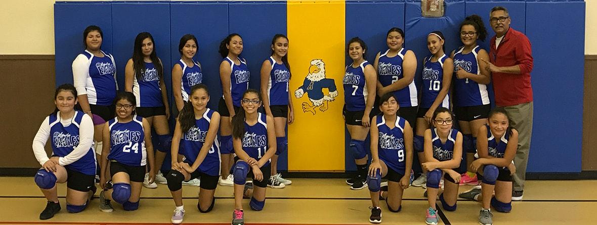 Slide 6 Volleyball Team