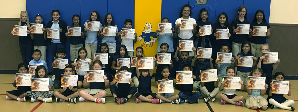 Honor Roll Students for 3rd Quarter