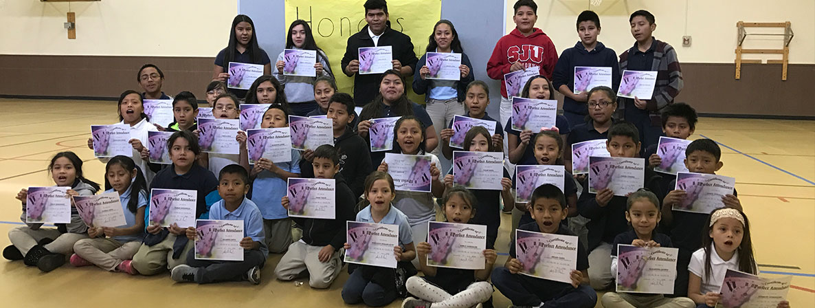 Perfect Attendance Students for Feb 2017