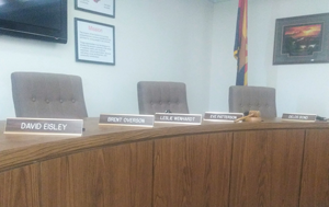 governing board chairs and desk