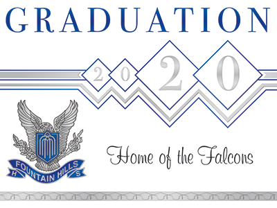 Graduation 2020 Home of the Falcons