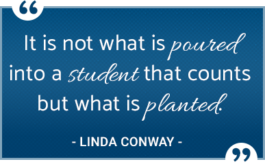 Linda Conway quote